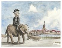 beveridge and elephant