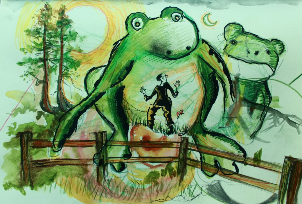 Encounter with Frogs