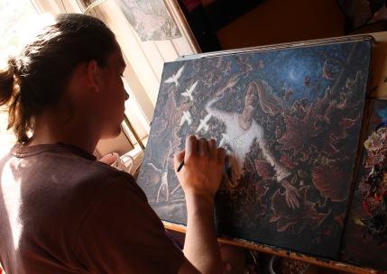 Painting 'Resurgence'