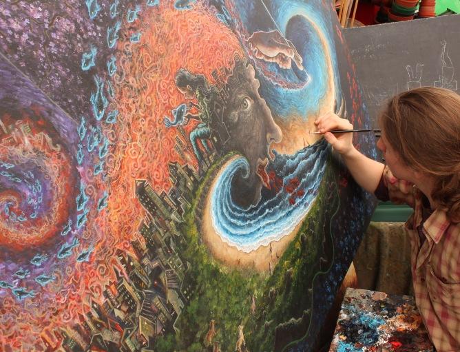 Painting 'Locus'