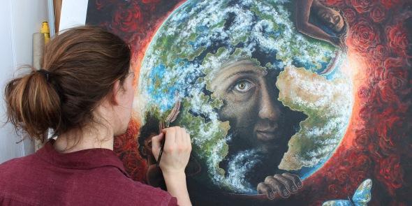 Painting 'Wake'